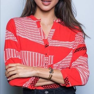 Hawaii's Finest Malina Collection Red Tunic